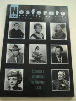 Ver os detalles de:  NOSFERATU. Revista de cine. Nº 20, enero 1996. Secundarios y antagonistas del Hollywood clásico
