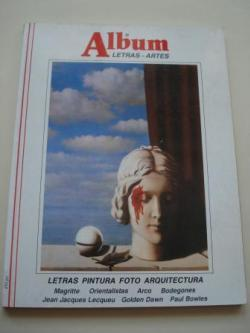 Ver os detalles de:  ÁLBUM DE LETRAS - ARTES. Nº 8