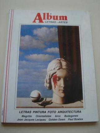 ÁLBUM DE LETRAS - ARTES. Nº 8 - Ver los detalles del producto