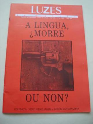 LUZES DE GALIZA. Nº 26. 1995. A lingua, ¿morre? - Ver los detalles del producto