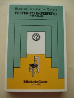 Ver os detalles de:  Pretérito Imperfecto (1927-1961)