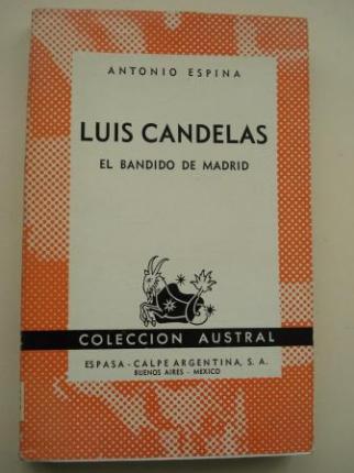 Luis Candelas. El bandido de Madrid - Ver os detalles do produto