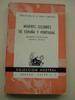 Ver os detalles de:  Mujeres célebres de España y Portugal. Segunda Selección