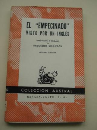 El `Empecinado´visto por un inglés (Traducción y prólogo de Gregorio Marañón) - Ver os detalles do produto