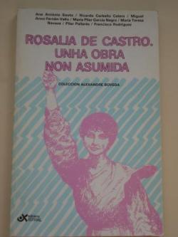 Ver os detalles de:  Rosalía de Castro. Unha obra non asumida