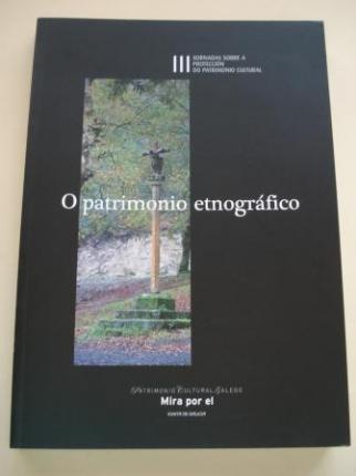 III Xornadas sobre a protección do patrimonio cultural. O PATRIMONIO ETNOGRÁFICO - Ver os detalles do produto