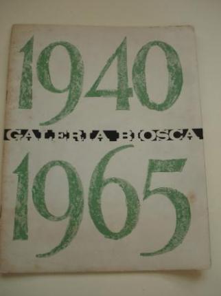 COLMEIRO. Catálogo Exposición Galería Biosca - Madrid, 1965 - Ver los detalles del producto