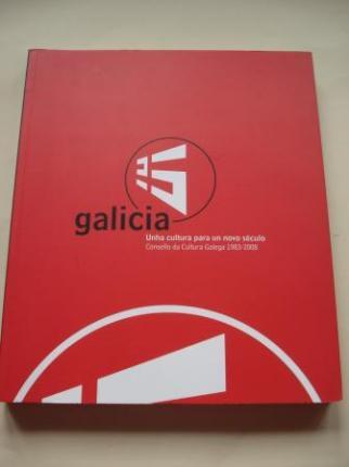Galicia. Unha cultura para un novo século. Consello da Cultura Galega 1983-2008. Catálogo de Exposición (27,5 x 23 cm) - Ver os detalles do produto