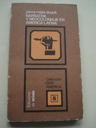Narrativa y neocoloniaje en América Latina - Ver os detalles do produto