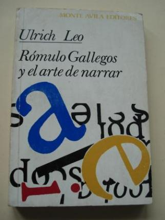 Rómulo Gallegos y el arte de narrar - Ver os detalles do produto
