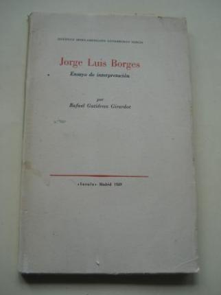 Jorge Luis Borges. Ensayo de interpretación - Ver os detalles do produto