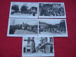 Ver os detalles de:  Lote de 5 tarxetas postais de Noia (Noya) Galicia - Década de 1920
