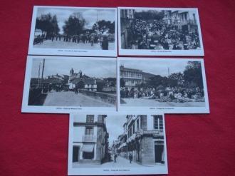 Lote de 5 tarxetas postais de Noia (Noya) Galicia - Década de 1920 - Ver los detalles del producto