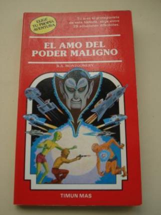 El amo del poder maligno (Elige tu propia aventura nº 41) - Ver os detalles do produto