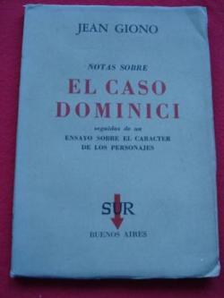 Ver os detalles de:  Notas sobre El caso Dominici, seguidas de un ensayo sobre el caráceter de los personajes