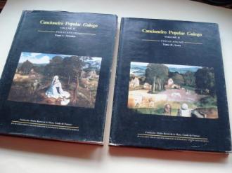 Cancioneiro Popular Galego. Volume II. Festas anuais. Tomo I: Melodías / Tomo II: Letra (Con partituras, fotos e mapas) - Ver los detalles del producto