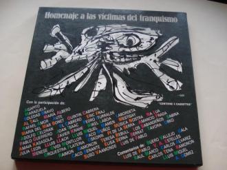 Homenaje a las víctimas del franquismo, a los luchadores por la libertad. Textos en castellano, gallego, catalán, euskera) (Estuche con libreto + 4 casetes) - Ver os detalles do produto