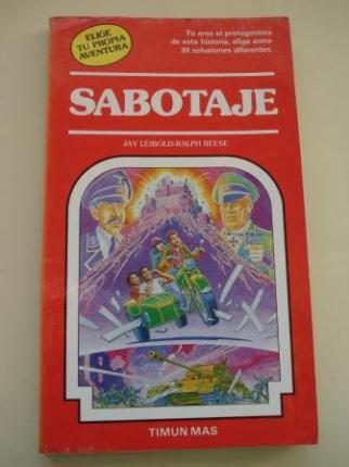 Sabotaje. Elige tu propia aventura, nº 28 - Ver os detalles do produto