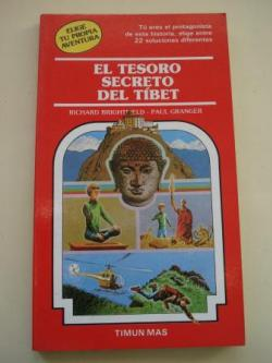 Ver os detalles de:  El tesoro secreto del Tíbet. Elige tu propia aventura, nº 36