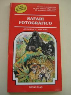 Ver os detalles de:  Safari fotográfico. Elige tu propia aventura, nº 37