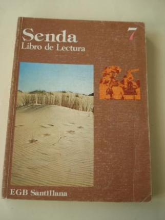 SENDA 7. Libro de lectura. EGB (Edición de 1977) - Ver os detalles do produto