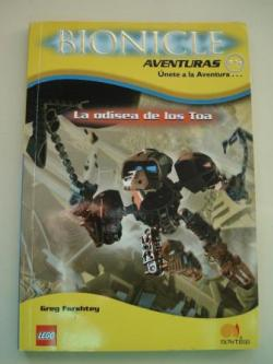 Ver os detalles de:  La odisea de los Toa. Bionicle Crónicas, nº 5