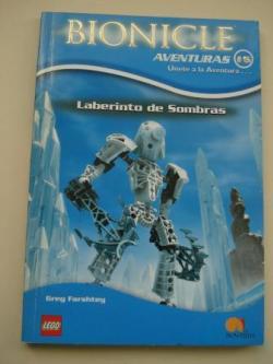Ver os detalles de:  Laberinto de Sombras. Bionicle Crónicas, nº 6