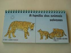 Ver os detalles de:  A familia dos animais salvaxes. O meu libro-xogo