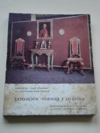 Exposición Cornide y su época. Introducción, guía y catálogo por Carlos Martínez-Barbeito - Ver os detalles do produto