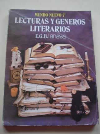 Lecturas y géneros literarios. Mundo Nuevo 7º EGB Anaya - Ver os detalles do produto