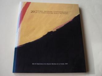 20 pintores españoles contemporáneos en la Colección del Banco de España. Catálogo Exposición Estación Marítima da Coruña, 1990 - Ver los detalles del producto