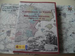 Ver os detalles de:  Cartografía de España en la Biblioteca Nacional. Siglos XVI al XIX. Tomos I, II y Adenda