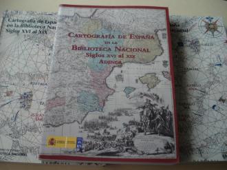 Cartografía de España en la Biblioteca Nacional. Siglos XVI al XIX. Tomos I, II y Adenda - Ver os detalles do produto