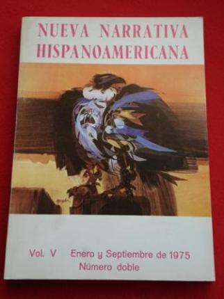 Nueva Narrativa Hispanoamericana. Vol. V - Enero y Septiembre de 1975. Número doble - Ver os detalles do produto