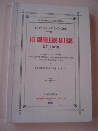 Los guerrilleros gallegos de 1809. Tomo II - Ver los detalles del producto
