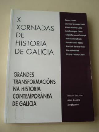 X Xornadas de Historia de Galicia. Grandes transformacións na historia contemporánea de Galicia - Ver los detalles del producto