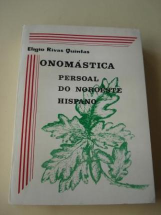 Onomástica persoal do noroeste hispano - Ver los detalles del producto