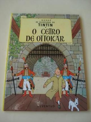 O cetro de Ottokar. As aventuras de Tintín (En galego). Tradución de Valentín Arias López - Ver los detalles del producto