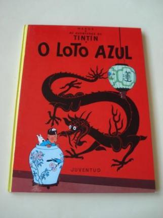 O Loto azul. As aventuras de Tintín (En galego). Tradución de Valentín Arias López - Ver los detalles del producto