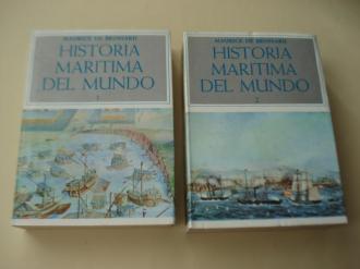 Historia Marítima del mundo. 2 tomos - Ver os detalles do produto