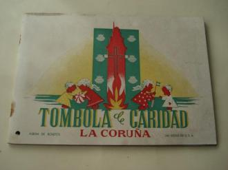 Tómbola de caridad (La Coruña). Álbum de boletos con 240 vistas de U.S.A. (Completo) - Ver os detalles do produto
