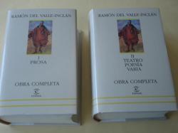 Ver os detalles de:  Obra Completa. Tomo I: Prosa / Tomo II: Teatro - Poesía - Varia