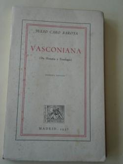 Ver os detalles de:  Vasconiana