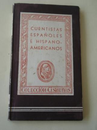 Cuentistas españoles e hispanoamericanos - Ver os detalles do produto