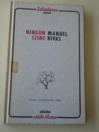 Ningún cisne (III Premio de Poesía Leliadoura) - Ver os detalles do produto