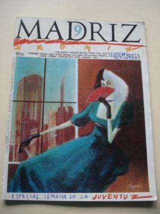 MADRIZ. Nº 9. Septiembre-octubre, 1984. Especial Semana de la Juventuz - Ver os detalles do produto