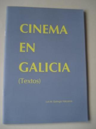 Cinema en Galicia (Textos) (Texto en español) - Ver los detalles del producto