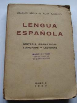 Ver os detalles de:  Lengua Española. Síntesis gramatical. Ejercicios y lecturas