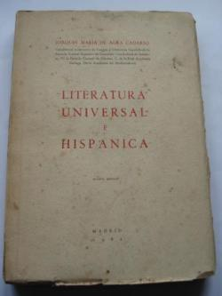 Ver os detalles de:  Literatura  Universal e Hispánica