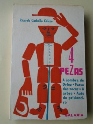 4 pezas: A sombra de Orfeo - Farsa das zocas - A arbre - Auto do prisioneiro - Ver os detalles do produto